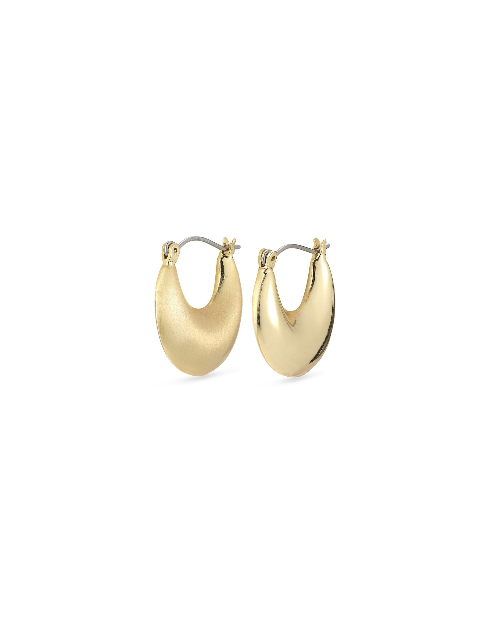 Pilgrim Pilgrim Alma Hoops Gold Plated