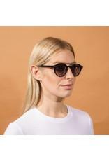 Pilgrim Pilgrim Carrie Sunglasses Gold Plated Black