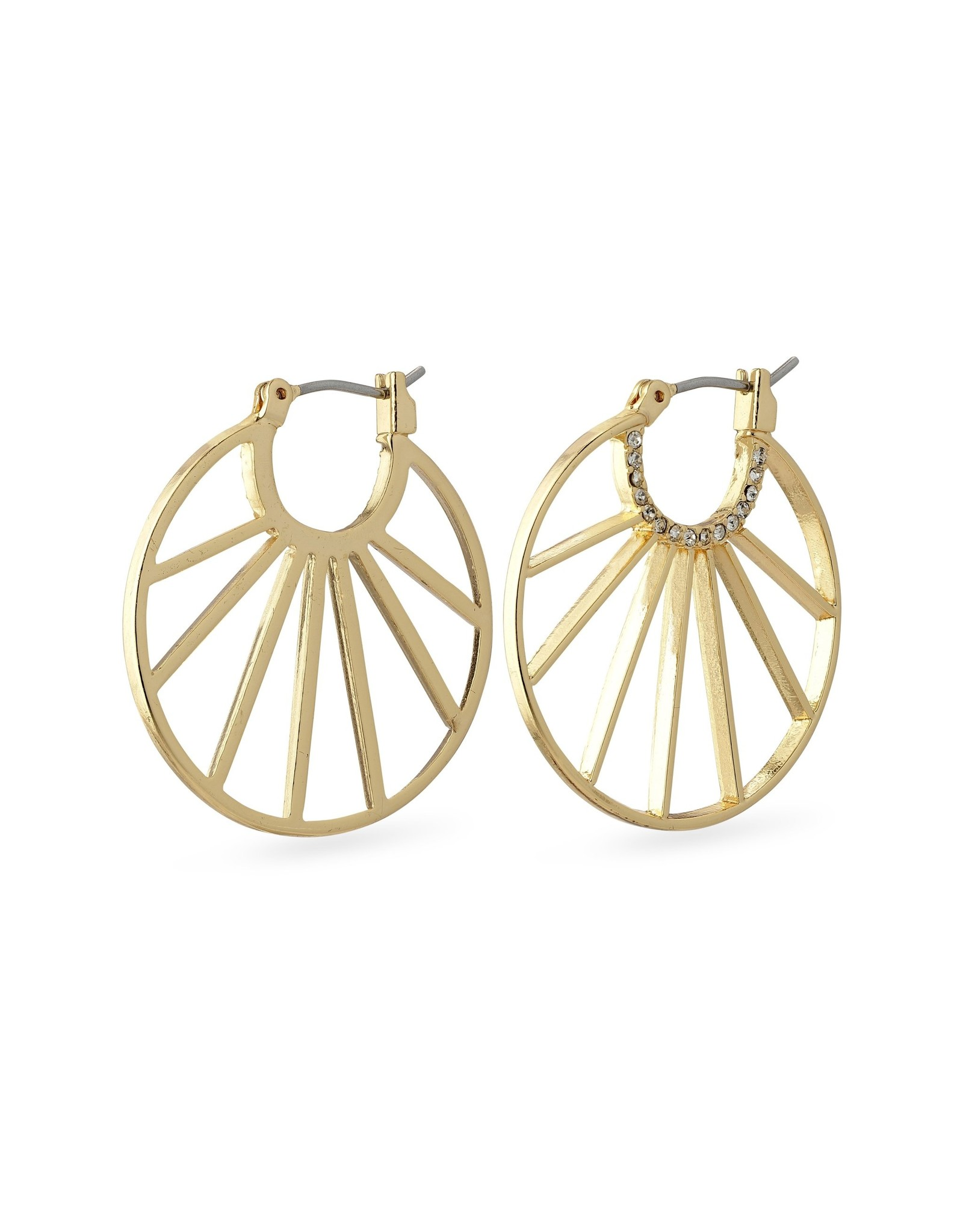 Pilgrim Pilgrim Cassie Earrings Gold Plated