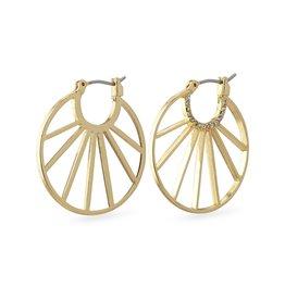 Pilgrim Pilgrim Cassie Earrings Gold Plated
