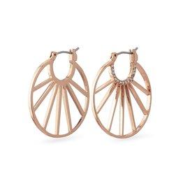 Pilgrim Pilgrim Cassie Earrings Rose Gold Plated