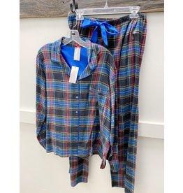 Kayanna 2 Piece Flannel PJ Set