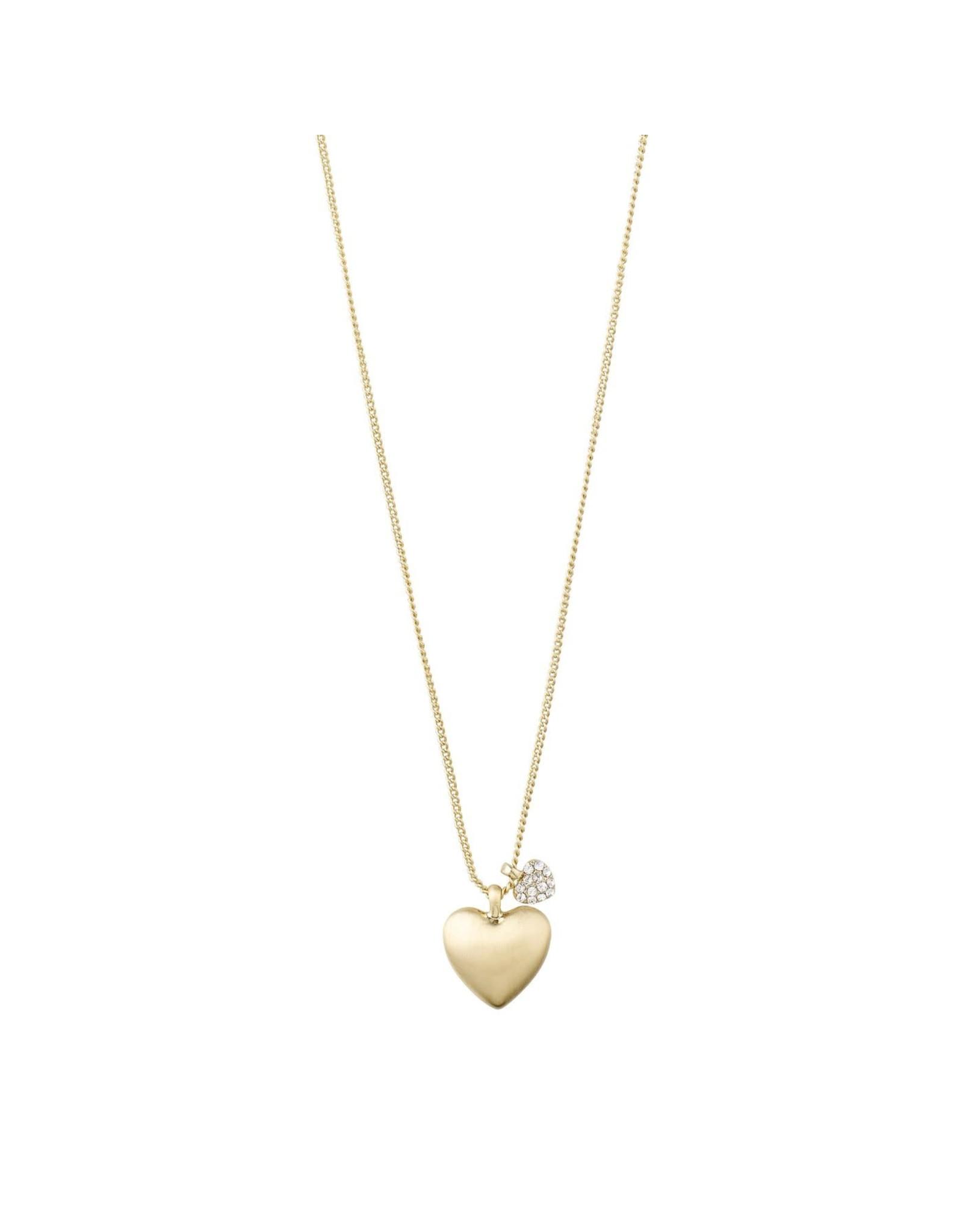 Pilgrim Pilgrim Heart Charm Necklace