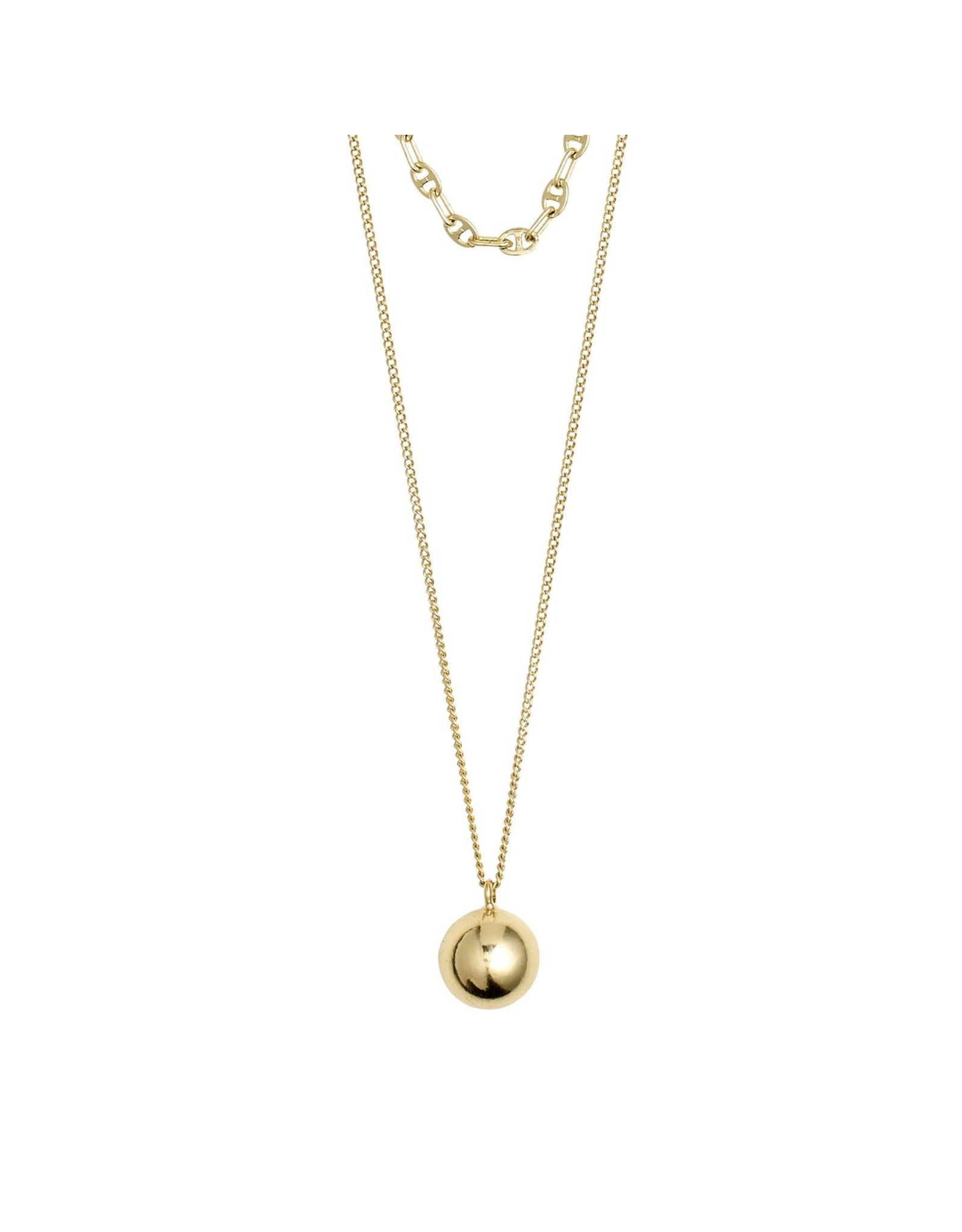 Pilgrim Pilgrim Earth Necklace Gold Plated