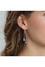 Pilgrim Pilgrim Etsu Earrings Silver Plated : Purple