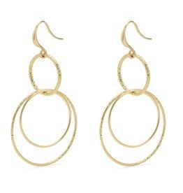 Pilgrim Pilgrim Kiku Earrings Gold
