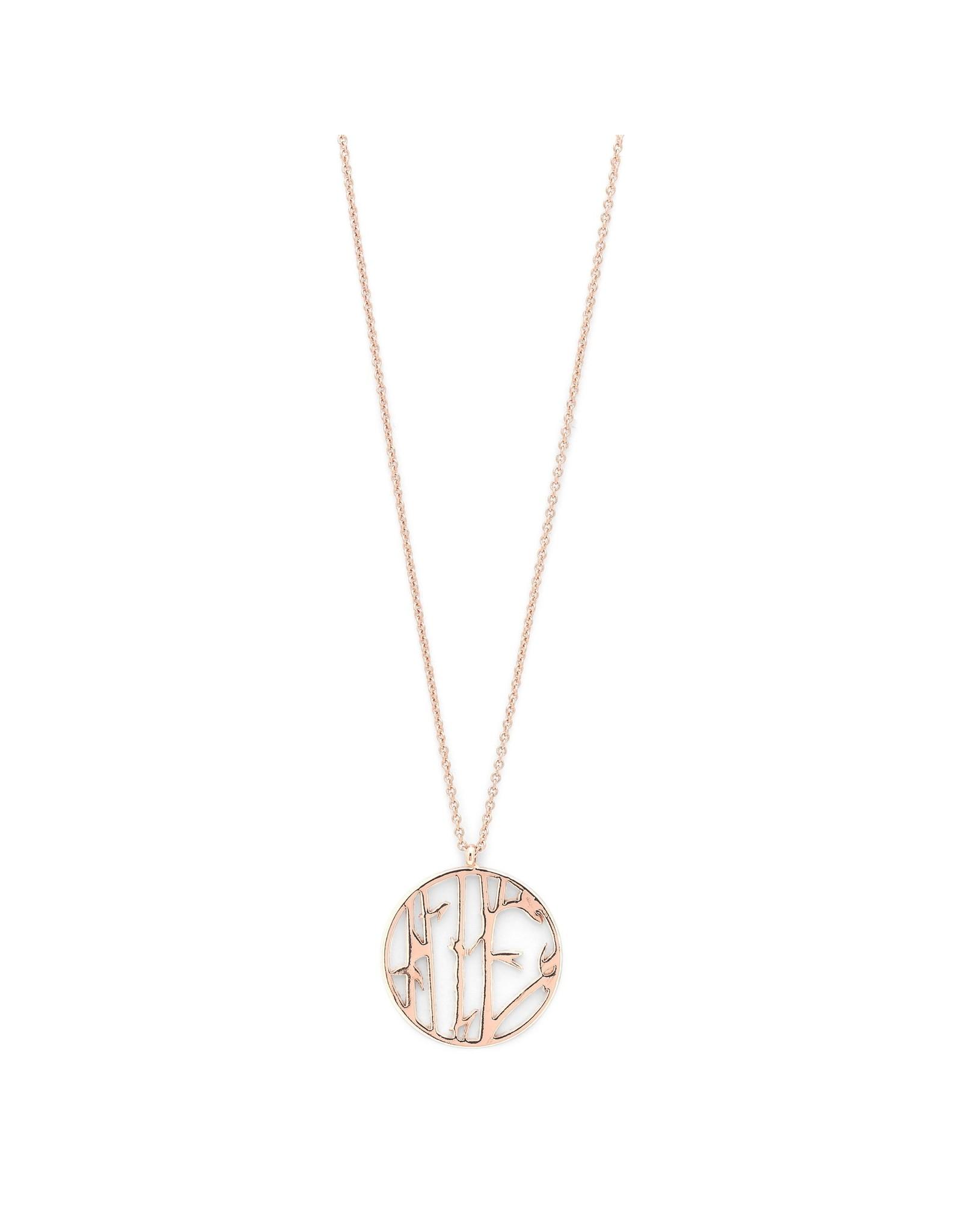 Pilgrim Pilgrim Kiwa Necklace Rose Gold Plated