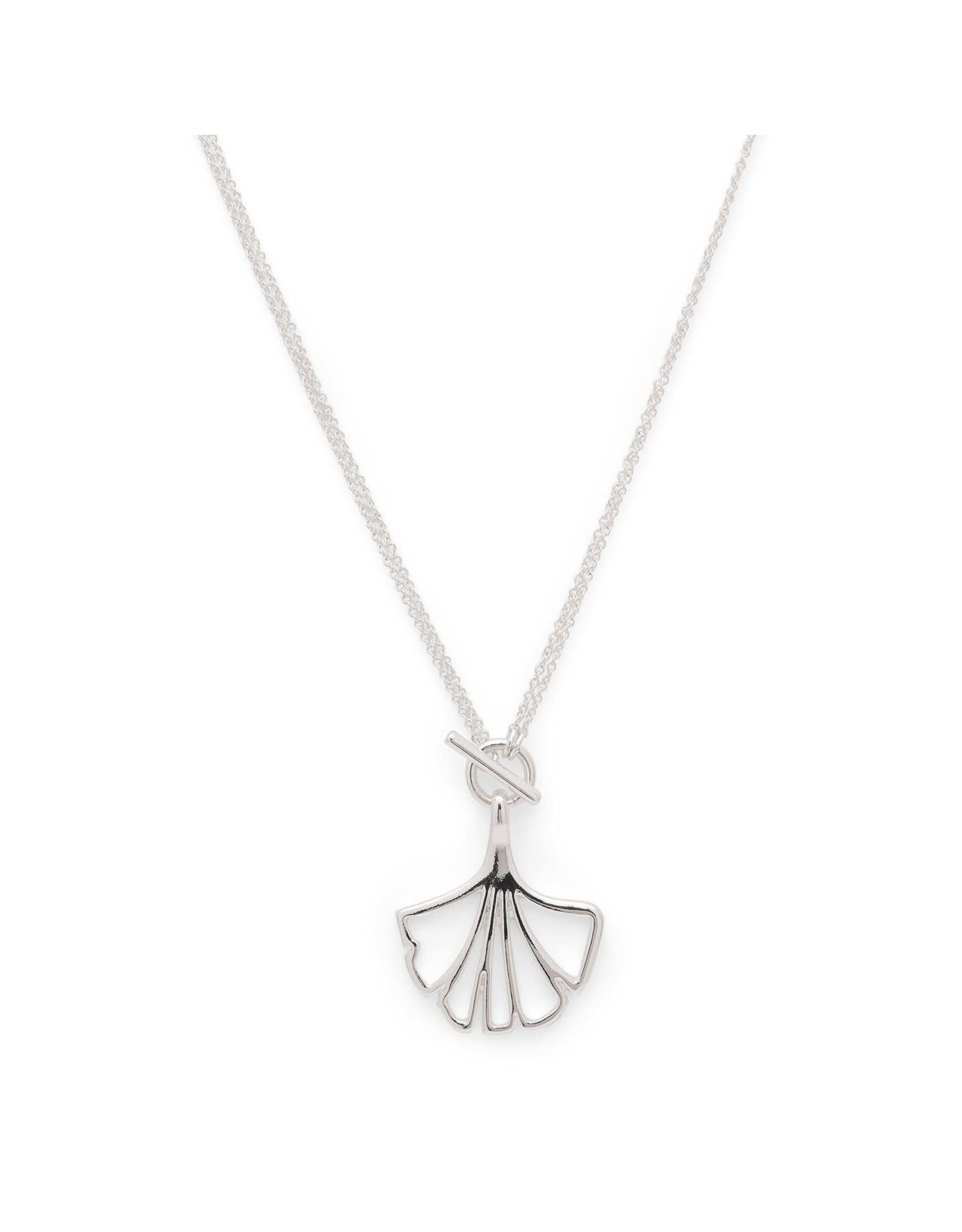 Pilgrim Pilgrim Silver Plated Saki Necklace