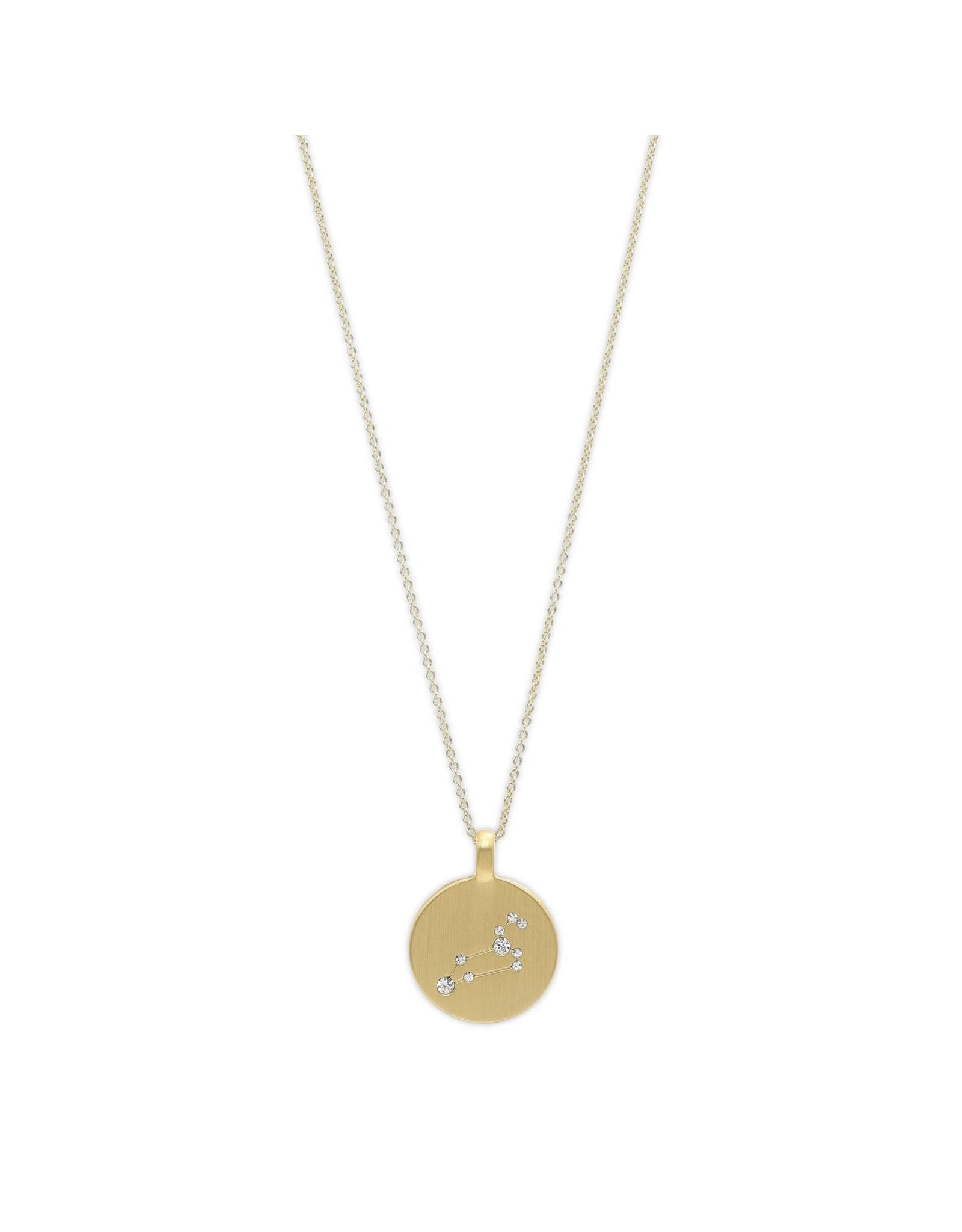 Pilgrim Pilgrim Seeing Stars Gold Star Sign Necklace
