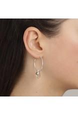 Pilgrim Pilgrim Skuld Grey/Silver Plated Earrings