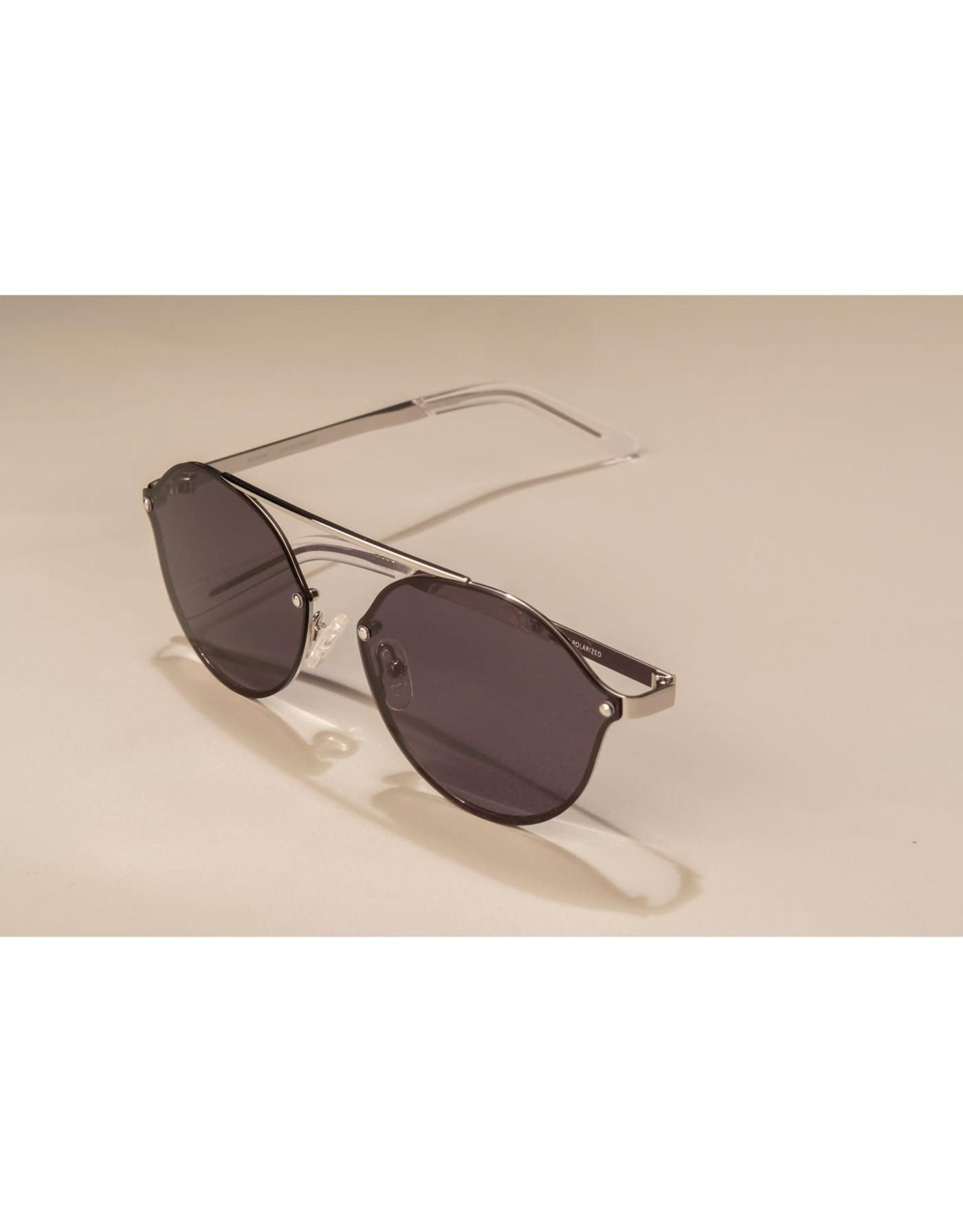 Pilgrim Pilgrim Sunglasses Zadie Silver Plated Grey