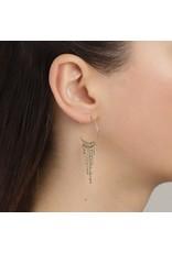 Pilgrim Pilgrim Urd Earrings Gold Plated Crystal