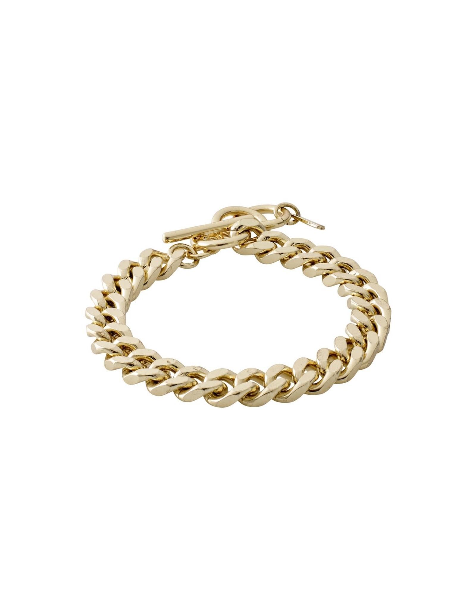 Pilgrim Pilgrim Water Bracelet Gold Plated