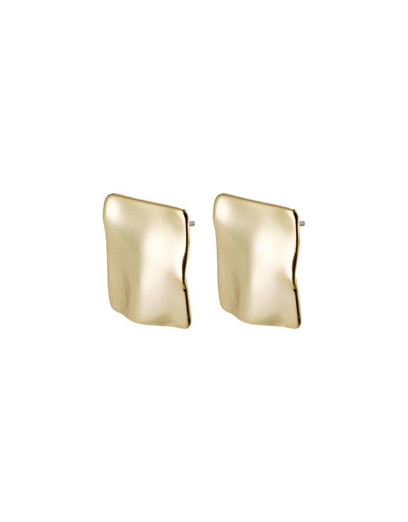 Pilgrim Water Earrings Gold Plated