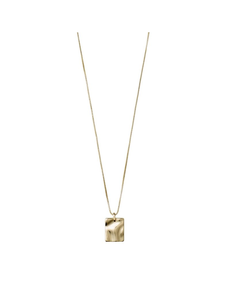 Pilgrim Water Necklace Gold Plated II