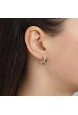 Pilgrim Yggdrasil Gold Plated Earrings