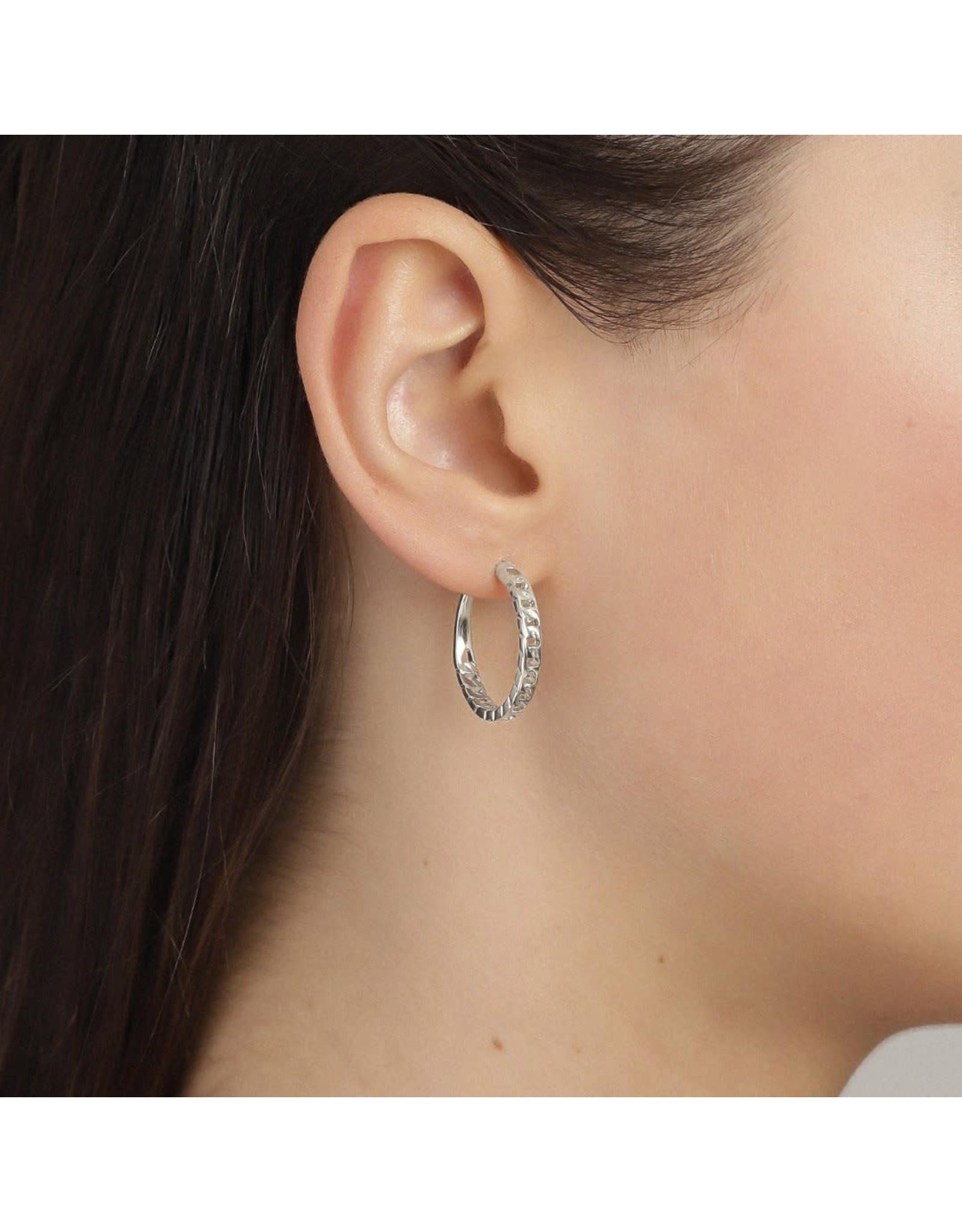 Pilgrim Pilgrim Yggdrasil Silver Plated Earrings II
