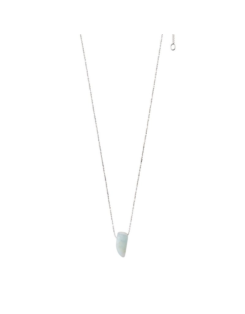 Pilgrim Necklace - Throat Chakra - Silver Plated - Amazonite