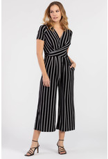 Tribal Tribal Surplice Jumpsuit - SMALL