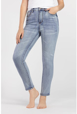 Tribal Tribal 5 Pocket High Rise Slim Jean