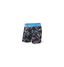 Saxx Saxx Ultra Boxer Brief Fly - Black Birds of Paradise