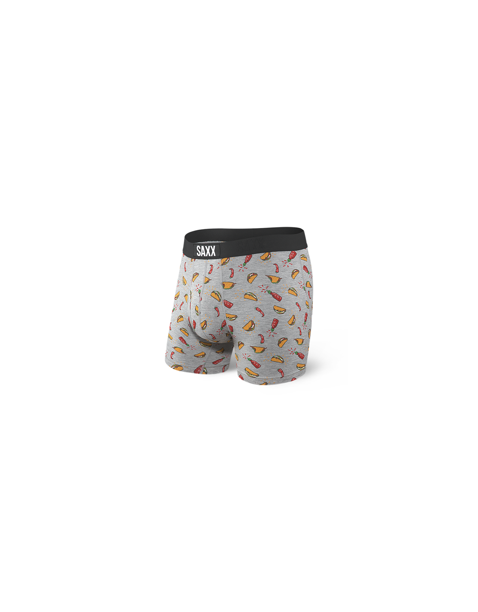 Saxx Saxx Ultra Boxer Brief Fly - Grey Hot Taco