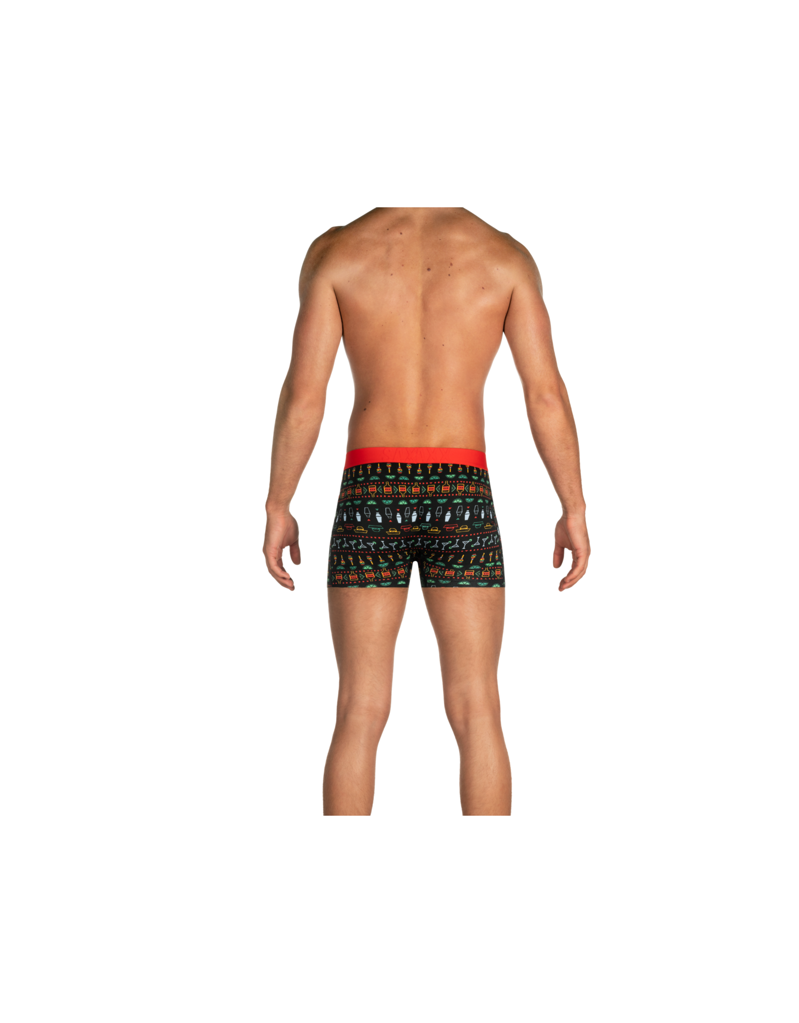 Saxx Saxx Undercover Boxer Brief Fly - Black Margarita