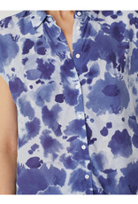 Nice Things Nice Things Tropical Waters Print Blouse