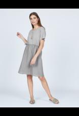 Pistache Linen Cotton Dress