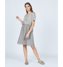 Pistache Linen Cotton Dress