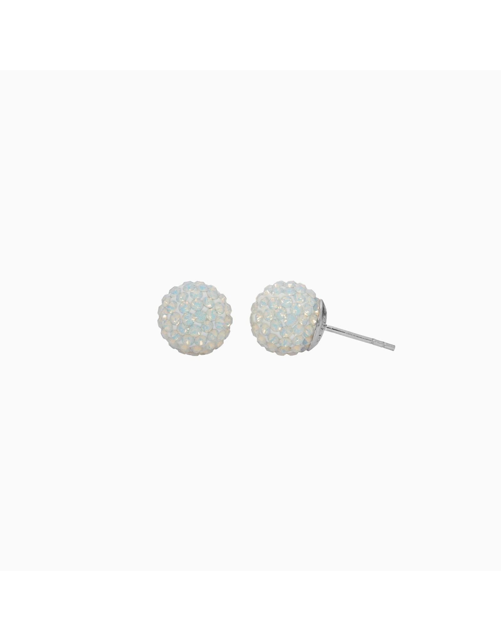 Hillberg & Berk Hillberg & Berk Opal 10mm Sparkleball Studs