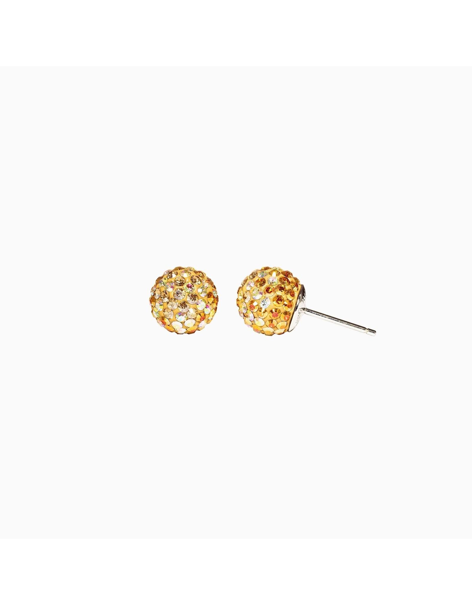 Hillberg & Berk Hillberg & Berk Twinkle 10mm Sparkleball Studs