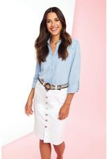 French Dressing Jeans French Dressing Jeans Button Down Skirt