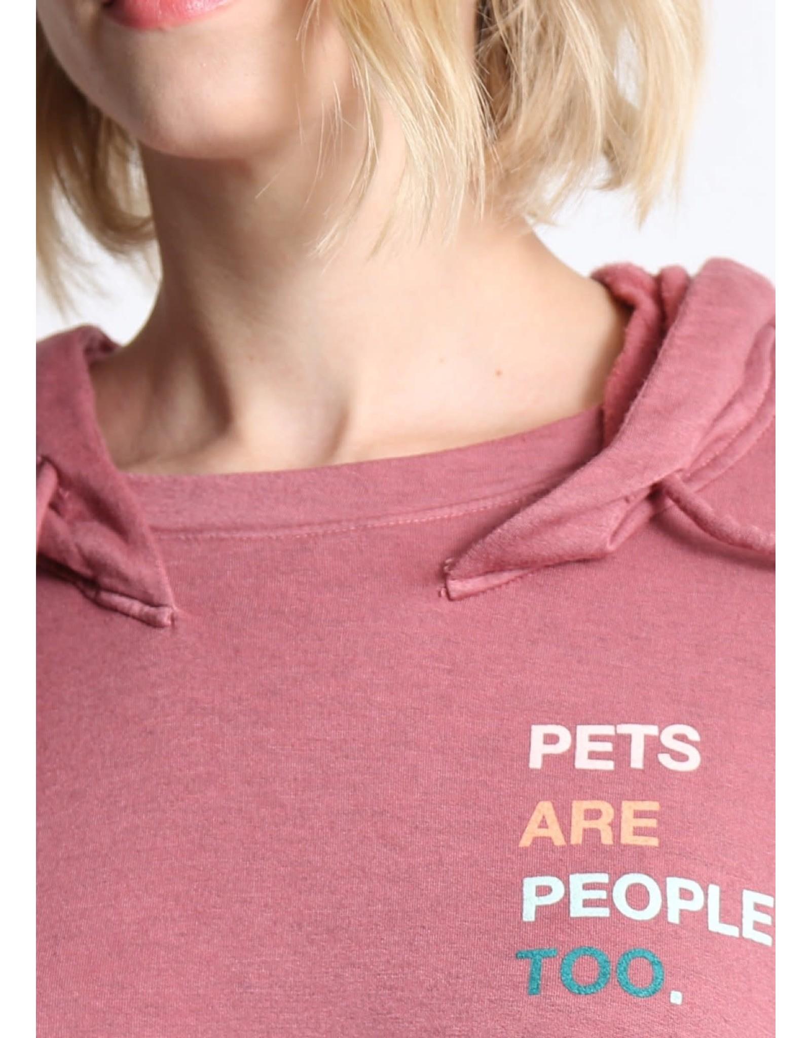 Good hYOUman Good hYOUman Marlene Pets Are People Too Hoodie