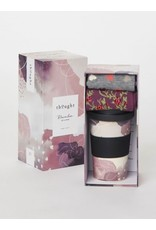 Thought Thought Hearts Bamboo Cup + Socks Gift Set
