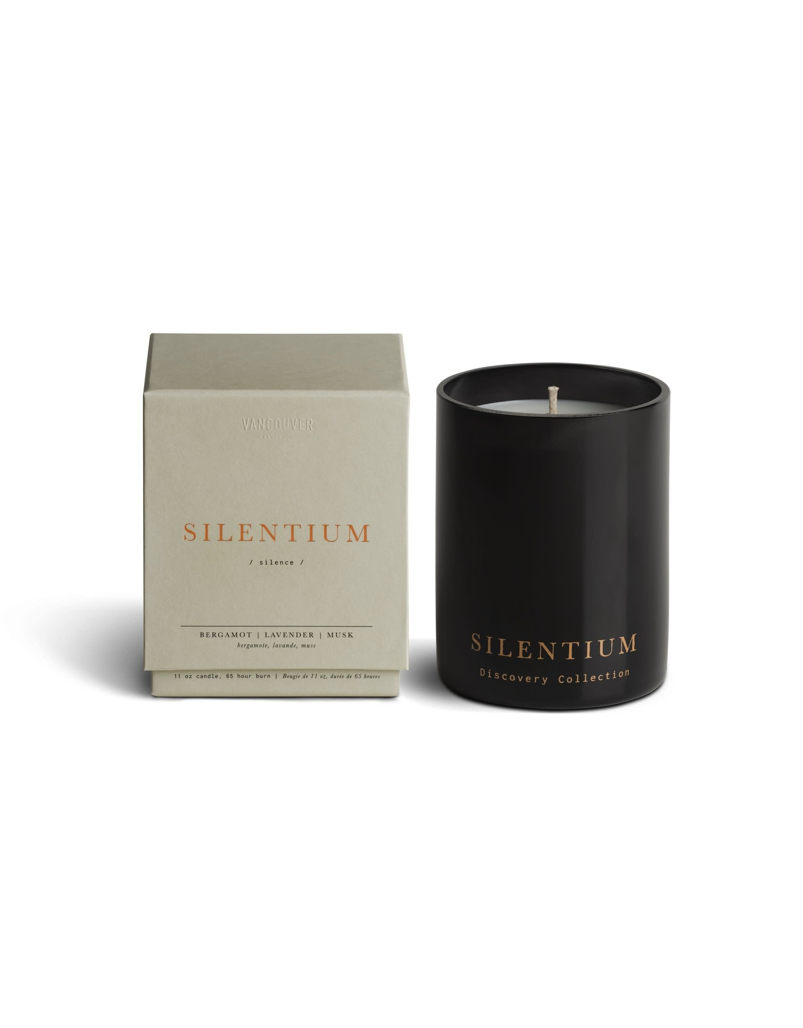 Vancouver Candle Co. Vancouver Candle Co. Single Wick Boxed Candle SILENTIUM