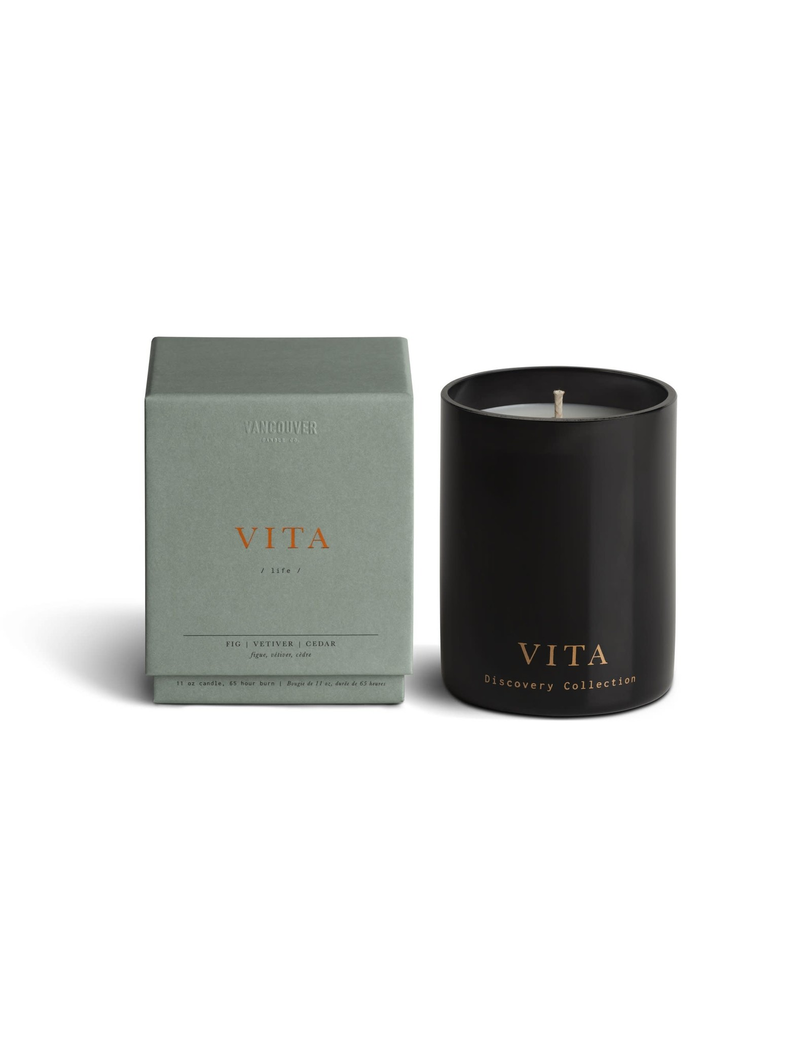 Vancouver Candle Co. Vancouver Candle Co. Single Wick Boxed Candle VITA