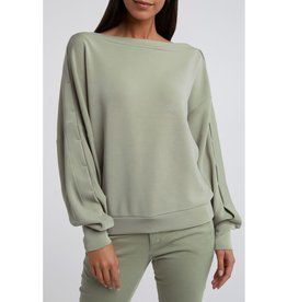 Yaya Yaya Asymmetric Shoulder Sweater