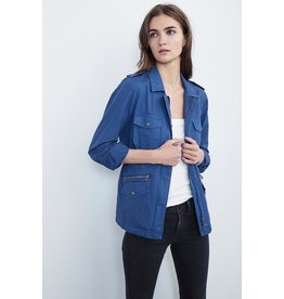 Velvet Velvet Ruby Cotton Twill Jacket - S, XL