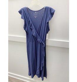 Velvet Velvet Sedona Wrap Dress - LARGE
