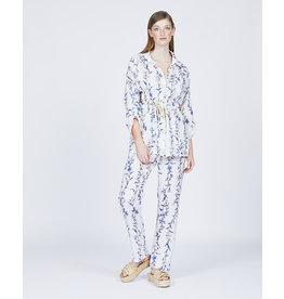 Pistache Floral Print Jacket