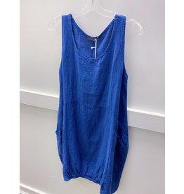 Pistache Linen Dress