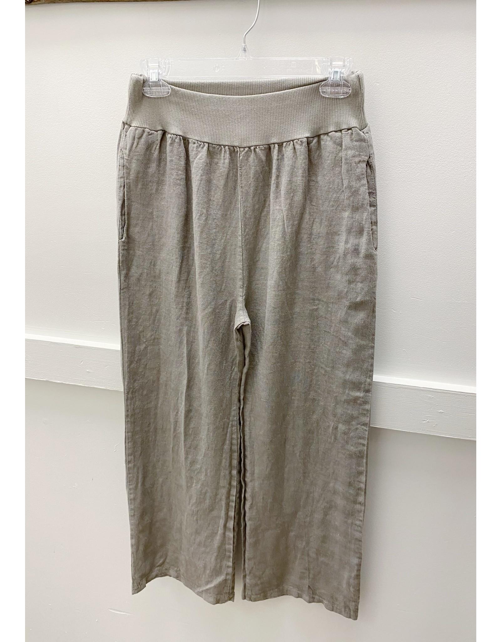 Pistache Ultimate Comfort Linen Pant