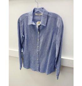 Nice Things Nice Things Fancy Fabric Basic Shirt