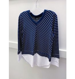 Renuar Stripe Knit Top
