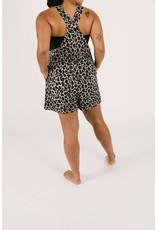 Smash + Tess Smash + Tess Lexi Leopard Shorty Romperalls