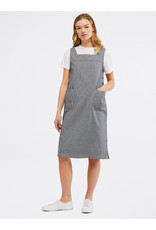 White Stuff White Stuff Arty Stripe Pinny Dress - SIZE 6