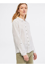 White Stuff White Stuff Amelie Embroidered Linen Blouse