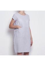 Pan Pan Linen Stripe Mix Dress