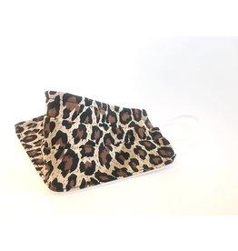 Femme Faire Face Mask - Leopard